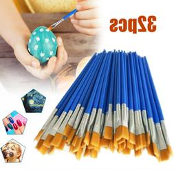 32pcs Paint Brushes Set Acrylic Oil Watercolour Painting Cra