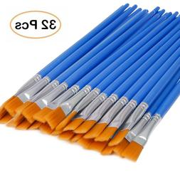 50pcs  Artist Paint Brushes Set Acrylic Oil Watercolour Pain