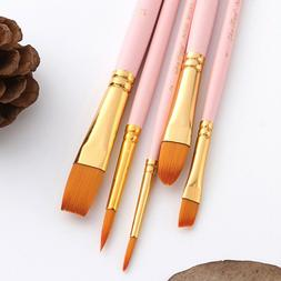 5Pcs Brushes Professional Durable Watercolor Drawing Brushes