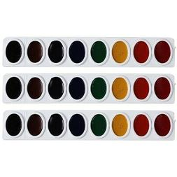 Prang Refill Tray for Oval Watercolor Set, 8 Color Refill St