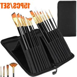 Artist Paint Brushes Acrylic Case Craft Oil Painting Brush W