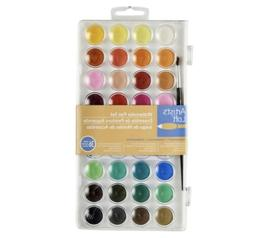 2 Artist's Loft Watercolor Pan Set Palette de Couleurs 36pc