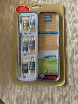 artists loft watercolor tubes in tin set