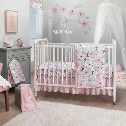 Bedtime Originals Blossom Pink Watercolor Floral 3-Piece Bab