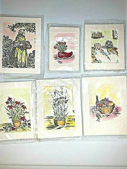 Dollhouse Miniature Floral Water Color Picture Artist Signed