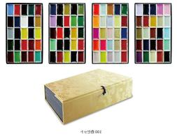Kissho Gansai Japanese Watercolor Paint New 24 35 48 72 100