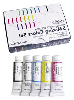 Holbein Artists Gouache Primary Mixing Set of 5