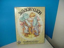 HOLLY HOBBIE WATERCOLOR PAINTING SET BLUE GIRL and BOY UNOPE