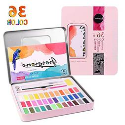 Kids Watercolor Paint Set Art Supplies Gifts for Adult Teena
