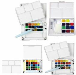 Koi Watercolor Paint 12 - 30 Colors Set With Brush Sketch Dr