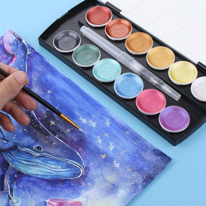 12Color Set With Brush