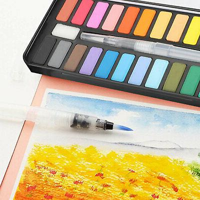 Professional 24 Colors Paint Draw Water Pigments