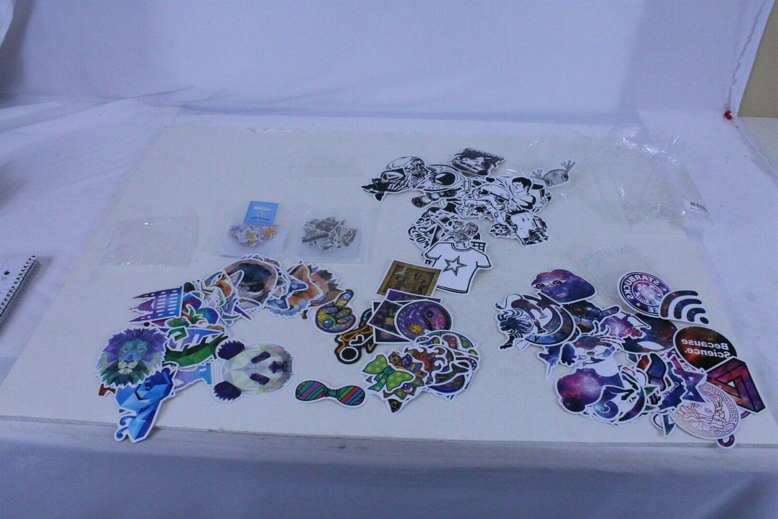 260 piece adult sticker decal set watercolor