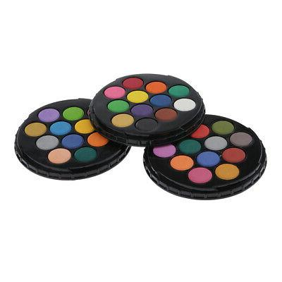 36 Color Watercolor Paint Set Perfect for Students Kids Begi