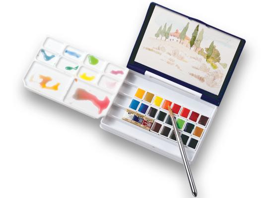 HOLBEIN Artists Travel Colors