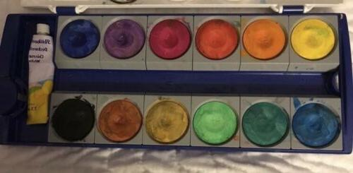 germany opaque paint box k12 water color