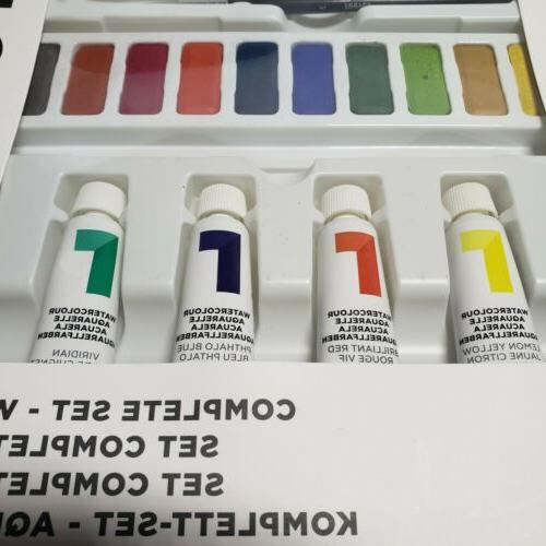 NEW Reeves Complete 31 pieces Watercolor Art Drawing