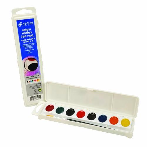 Reeves Semi-Moist Oval Water Color