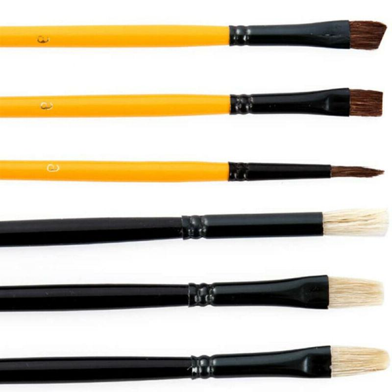 US Brush Synthetic Hair Brushes Watercolor Art