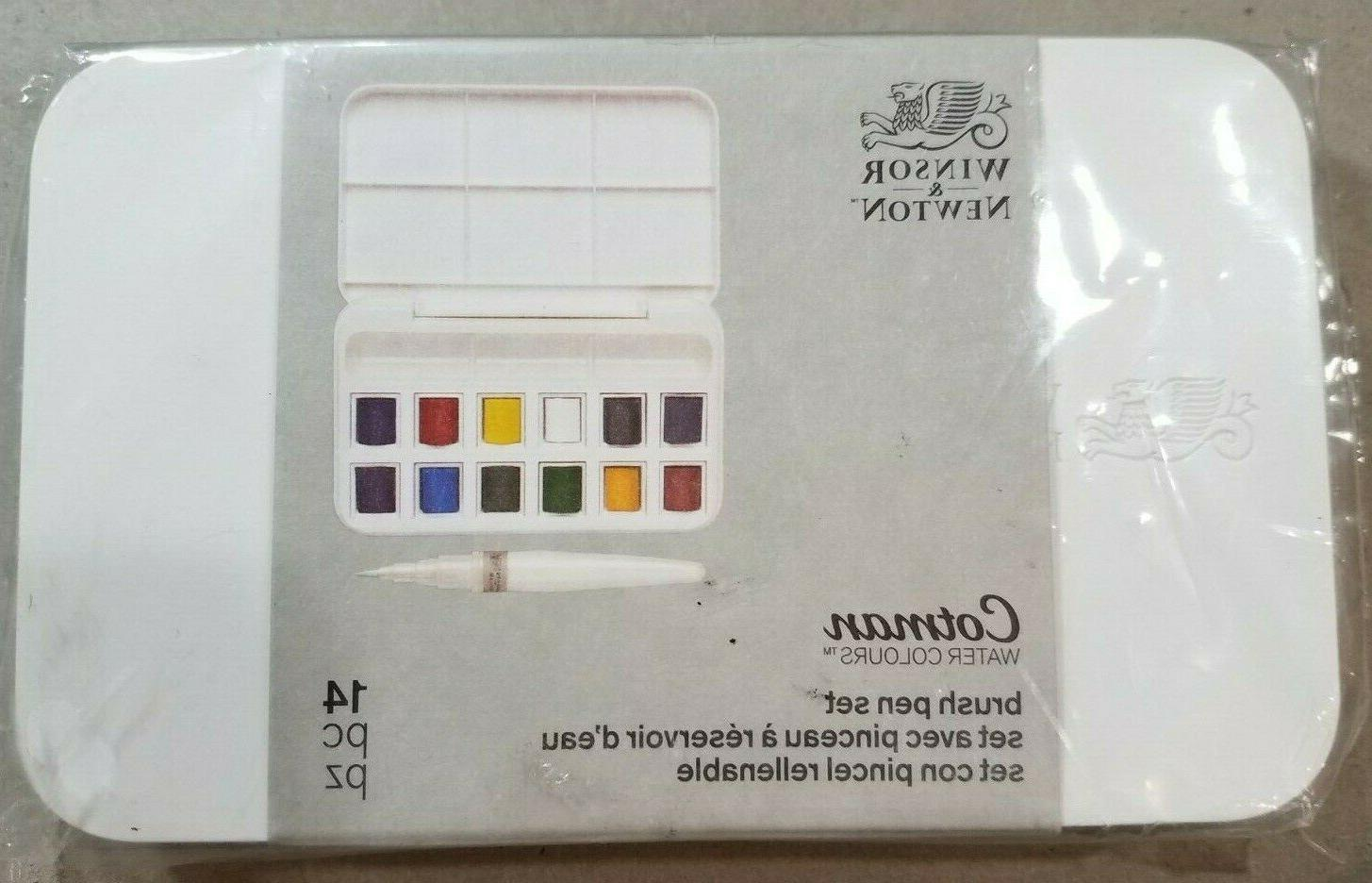 winsor and newton cotman water colours 14