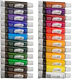 Meeden Watercolor Paint, Set Of 24 Vibrant Colors In Tubes,