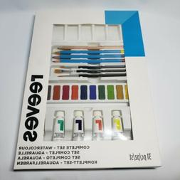 NEW Reeves Complete 31 pieces Watercolor Set Watercolour Art