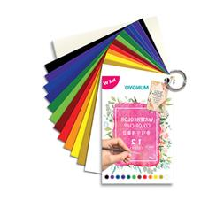 New Mungyo Paper Water Color Chip Paints 12 Colors with Pale