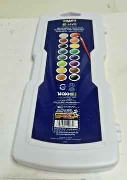 Dixon Oval 16-Color Semi-Moist Water Color