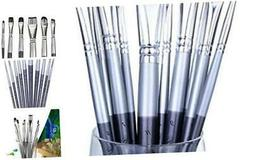 Paint Brushes Set for Acrylic Oil Watercolor, Artist Face an