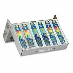 Prang Classroom Master Pack- Watercolor Paint Sets, 12 Each: