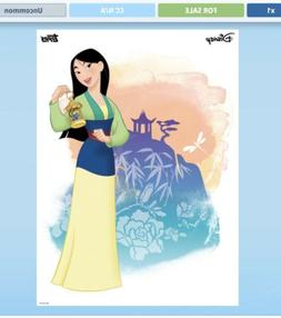Topps Disney Collect Mulan Watercolor Bloom Complete Set  +
