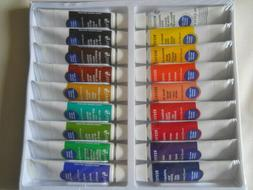 Reeves Watercolor Aquarelle Paint Multicolor Set 18 tubes 0.