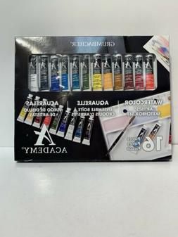 watercolor artist sketchbox set model 16pcs free