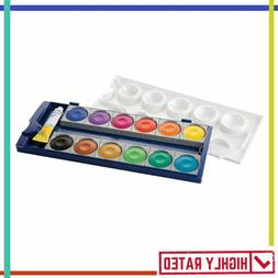WATERCOLOR Opaque Paint Set 12 Colors Plus Chinese White Tub
