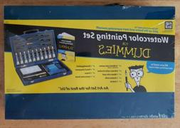 Watercolor Painting Set For Dummies: 23 Pieces Art Set with