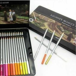 Watercolor Pencil Set Water Color Pencils Soluble Colored Ar