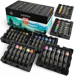 Arteza Watercolor Premium Artist Paint, 12ml Tubes - Set of