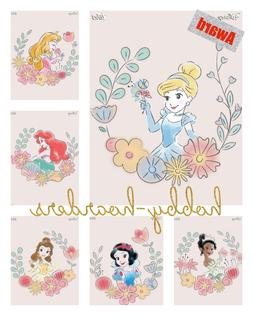 WATERCOLOR WISHES CHARACTER 5 CARD SET with AWARD Topps DISN