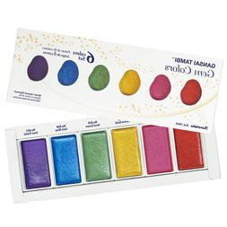 ZIG KURETAKE Gansai Tambi Watercolor Paint Set Gem Colors Ar